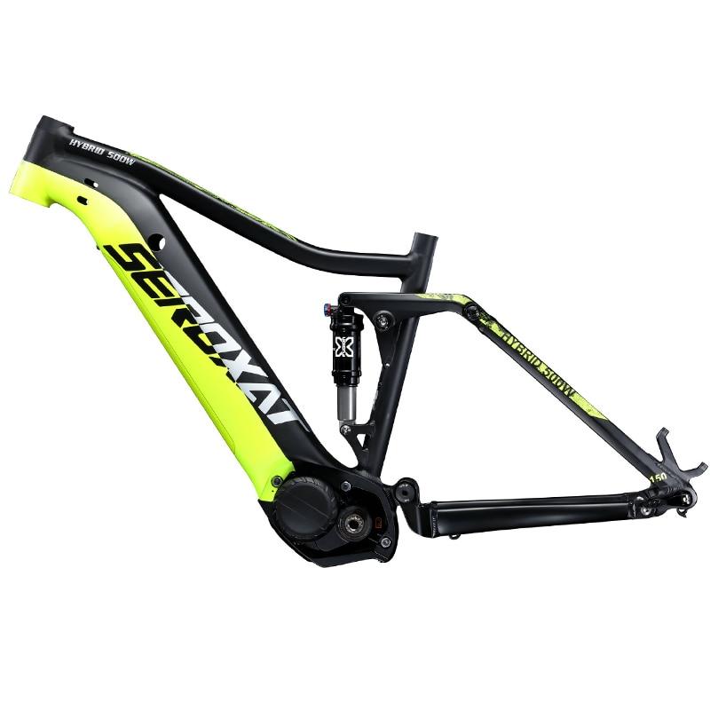 SEROXAT Mountain Bike Frame E BIKE 29ER Motor Bike Frame Aluminum alloy Suspension Frame Electric Frame for MTB AM DH - 2