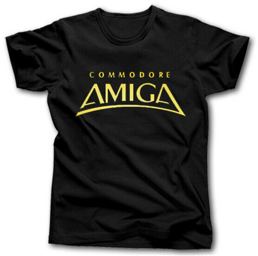 AMIGA COMMODORE T SHIRT S-XXXL 64 COMPUTER RETRO VINTAGE VIDEO GAMES More Size And Colors image