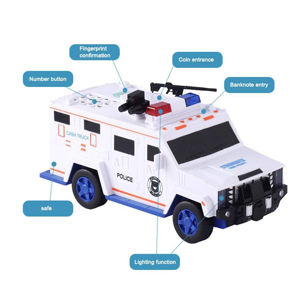 Multifunction Piggy Bank Kids Toy Car With Music Money Box Saving Deposit Box Electronic Tirelire Children Cash Coin Safe Truck