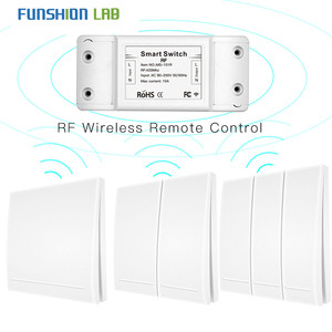 Image 1 - 433Mhz Wireless Smart Switch RF Remote Control Receiver Push Button Controller Wall Panel Transmitter,2 way/3 way Multi Control