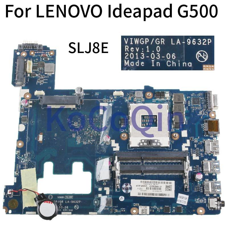 VIWGP/GR LA-9632P Laptop Motherboard For LENOVO Ideapad G500 HM76 90002834 PGA989 I3 I5 I7 Support  Mainboard DDR3 SLJ8E