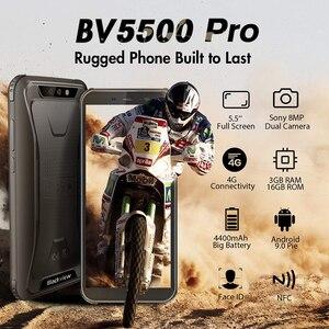 "Image 2 - Blackview BV5500 Pro Originale IP68 Impermeabile 5.5 ""Rugged Smartphone 4400mAh 3GB + 16GB Android 9.0 Torta 4G Telefono Cellulare Allaperto"