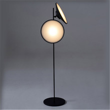 Moderne lampadaire LED nordique Simple Designer salon stand lumière Double corne Radar chevet lampara décor luminaires(China)
