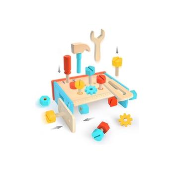 Mideer Children Wooden Tool Bench Toy Childrens Toys toys for children boys boy toy birthday present gift