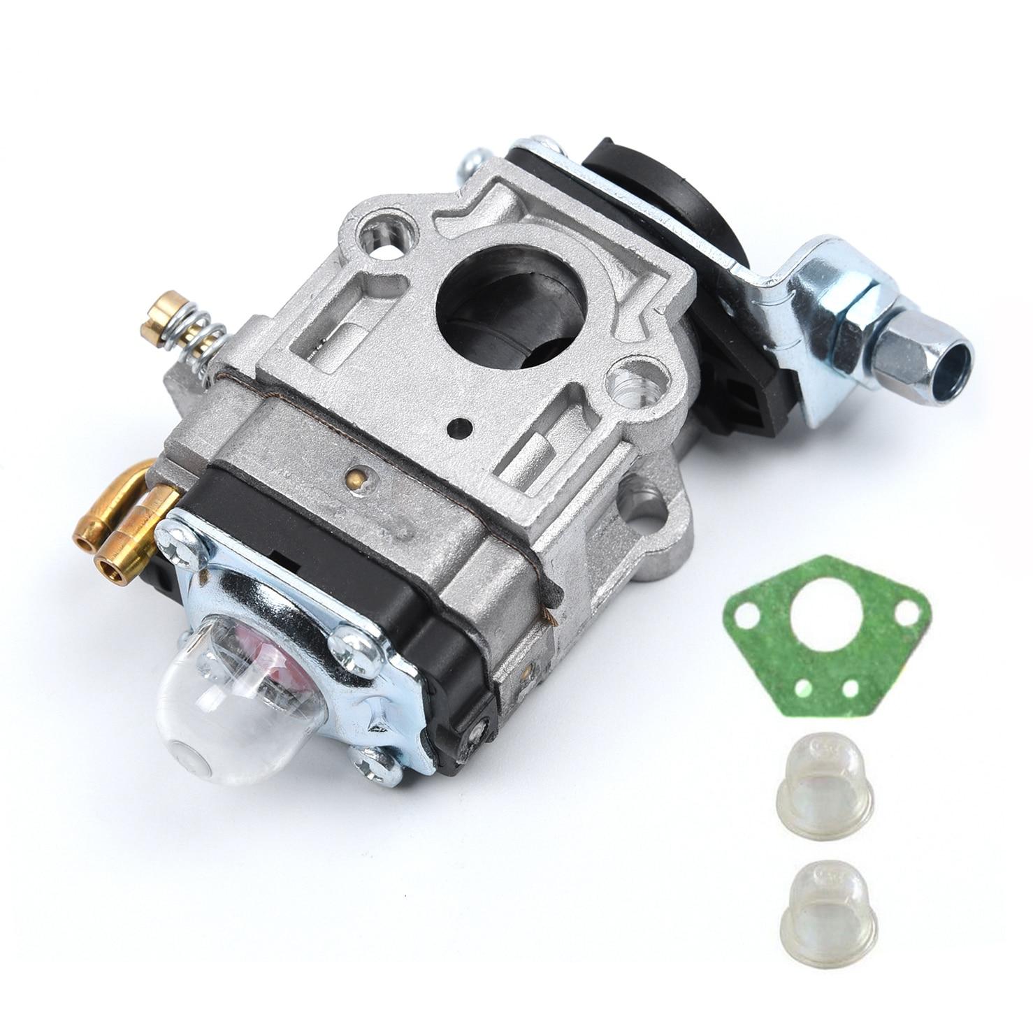 Комплект карбюратора 15 мм для кусторезы 43cc 49cc 52cc Strimmer Cutter, Carb для бензопилы
