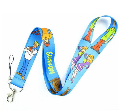 Retail 1 Pcs Cartoon Scooby Doo  Neck  Lanyard Key Chains Gifts Party Favors DD-30