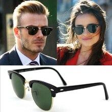 Поляризационные солнцезащитные очки, мужские Модные очки ночного видения, очки для вождения, Ретро стиль, круглые солнцезащитные очки, мужские водительские очки