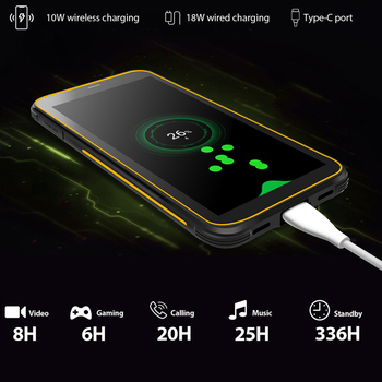 BLACKVIEW BV6300 Pro Helio P70 6GB+128GB Smartphone 4380mAh Android 10 Mobile Phone Quad Camere NFC IP68 Waterproof Rugged Phone 3