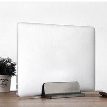 Горячая Алюминиевая Подставка для ноутбука Macbook Air Pro стабильная Вертикальная настольная подставка с регулируемым размером док-станции держатель для книг подставка для ноутбука