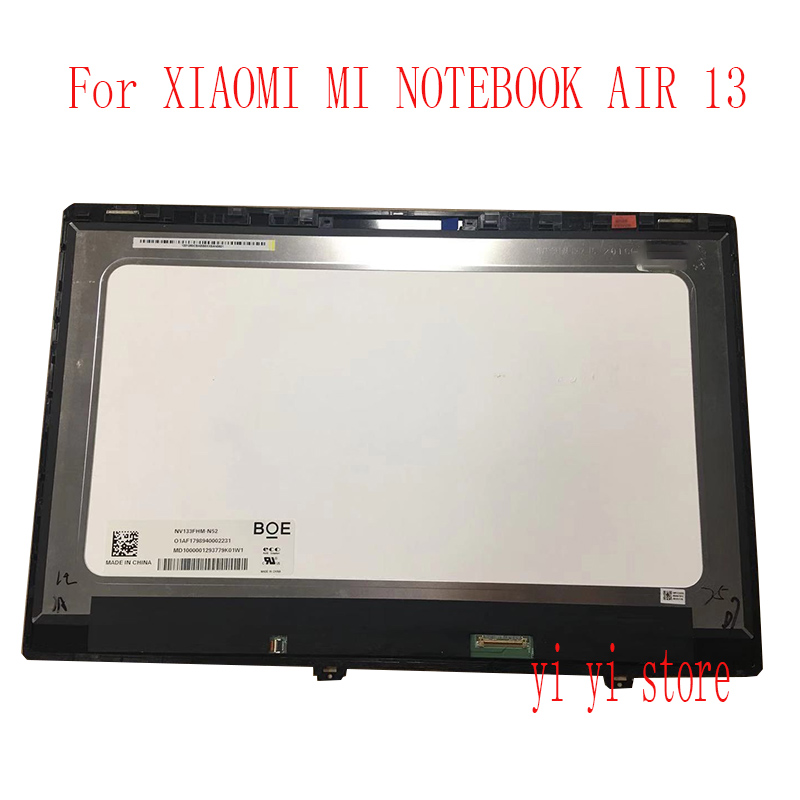 "13.3"" for XIAOMI MI NOTEBOOK AIR 13 laptop screen IPS LED LCD panel display MATRIX MONITOR FHD IPS EDP 30 PIN Glass"