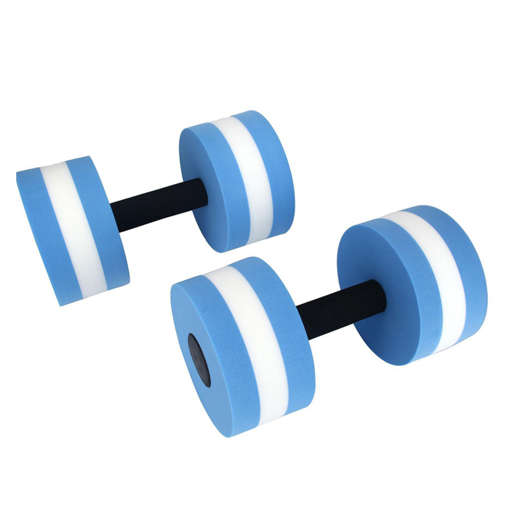 Water Fitness Dumbbell Aquatic Aerobics Barbell Body Building Gym Equipment 1 Pc