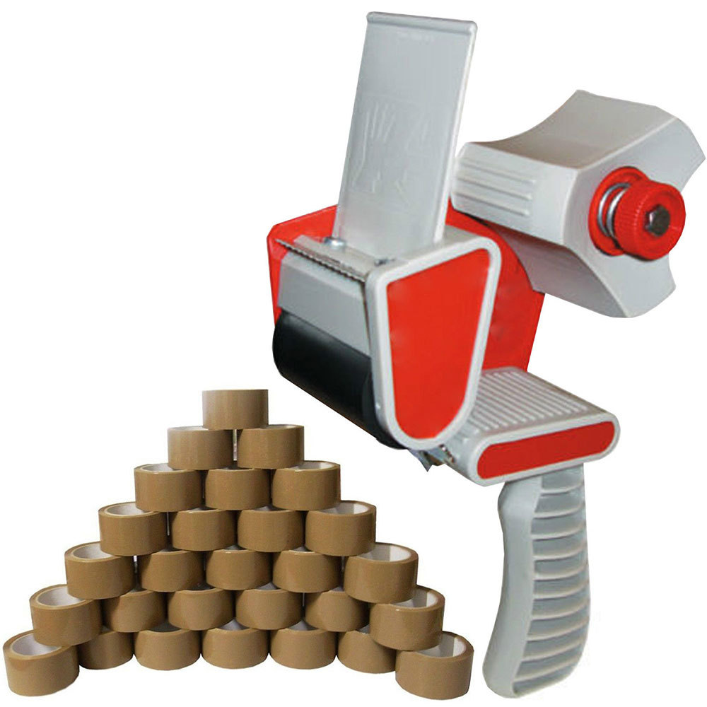 5.6cm Width Tape Cutter Sealing Tapes Dispenser Packaging Parcel Machine Stainless Steel Blade Handheld Packer Tool Supplies