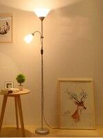 best selling PVC floor lamp popular 2 lights E27 floor lamp reading lamp standing lamp floor lamp for living room