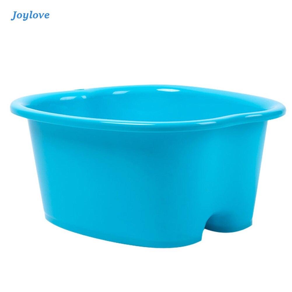 JOYLOVE Foot Care Bath SPA Plastic Tub Foot Soak Basin Pedicure Detox Massage Feet