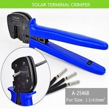 mc4 mc3 crimper solar pv crimping tool kits for 2 5 6 0mm2 mc3 mc4 connectors solar tool set A-2546-4  solar terminal crimper  for Solar Panel PV Cable MC3 Crimping tool for solar panel connectors,solar crimper 2.5-6mm2