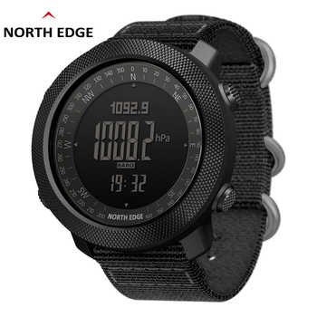 North Edge Men Watches Sport Military Digital Watch Barometer Altimeter Clock Men Compass Waterproof Watch Sport Digital Watches - DISCOUNT ITEM  51% OFF All Category