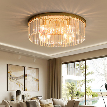 Crystal Chandelier Lighting LED Lamps Lights Chandeliers Living Room Bedroom Dining Restaurant Ceiling Pendant Hanging Lamps crystal restaurant chandelier rectangular hong kong style nordic postmodern light luxurious atmosphere bedroom living room lamps