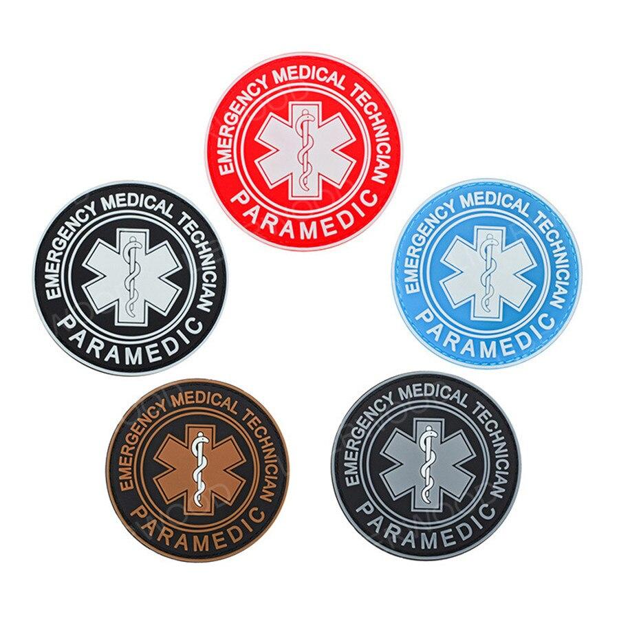 "EMT Star of Life Emergency Medical Technician Decal 4/"""