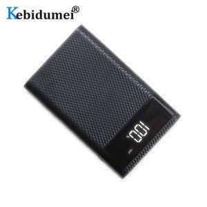 Image 5 - Kebidumei 4x18650 DIY כוח בנק מקרה סוללה תשלום אחסון תיבת 5V USB הכפול סוג C אנדרואיד מיקרו USB ממשק עבור טלפונים חכמים