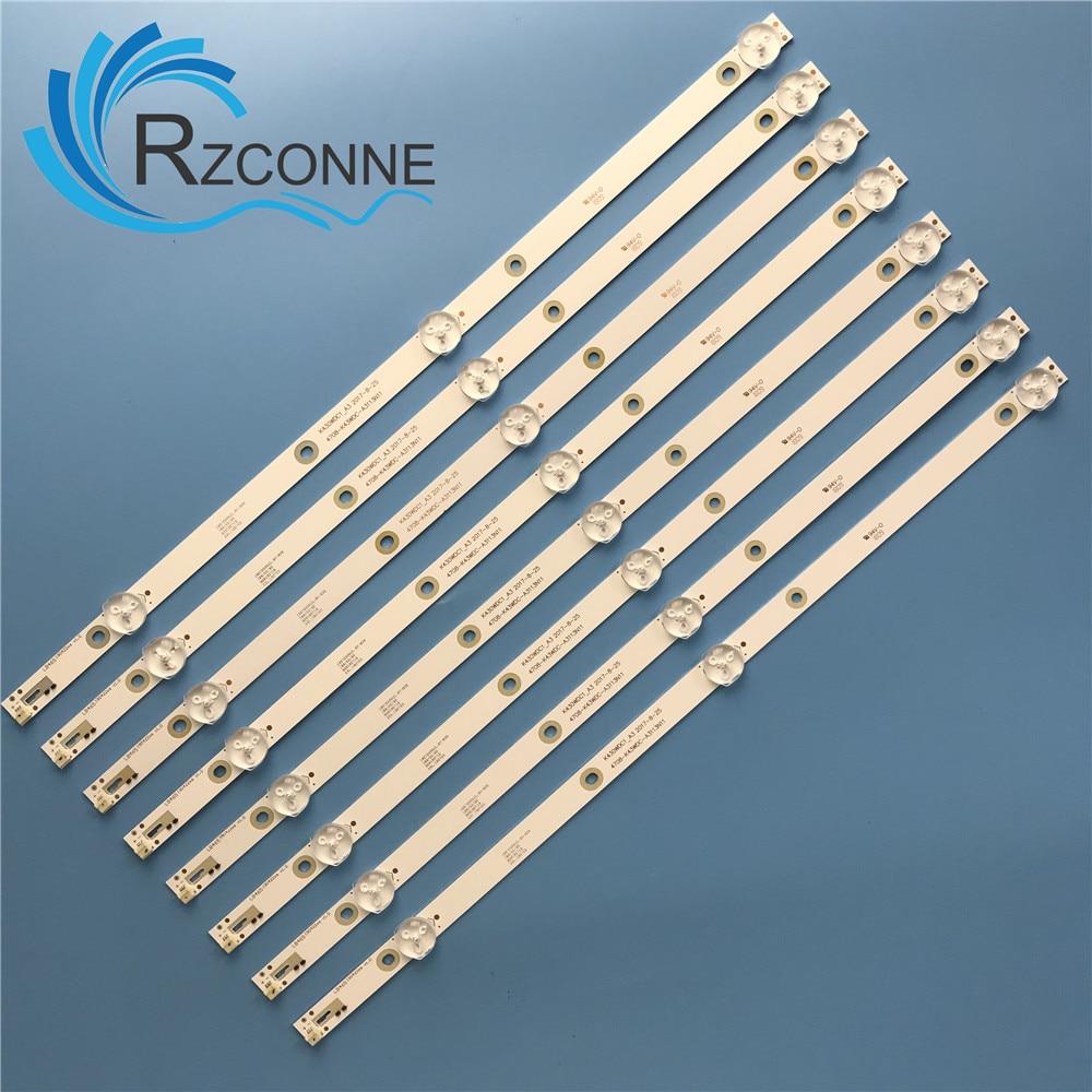 LED Backlight Strip 3 Lamp For 4708-K430WDC-A3113N11 A1113N11 K430WDC1 L43E6800 43HFF5952/T3 43L1600C 43bdl4012n/62