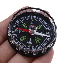 1PC przenośny Mini precyzyjny kompas praktyczny Guider do Camping piesze wycieczki nawigacja północna przetrwanie z guzikami wzorem kompas tanie tanio CN (pochodzenie) Typu handheld YTOD537 Wskazując przewodnik Obóz Wskaźnik