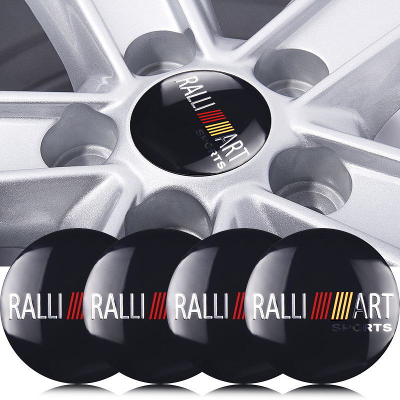 4pcs 56mm Auto Tire Wheel Cap Emblem Badge Sticker Car Styling For Mitsubishi Lancer ASX Outlander Pajero Carisma L200 Galant
