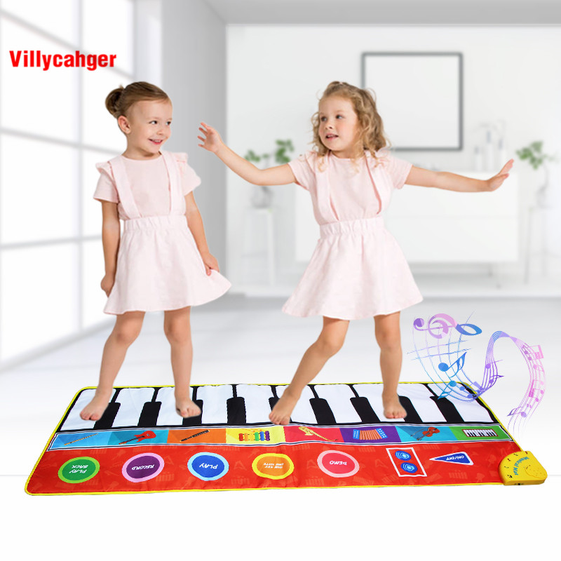 Large Size Musical Mat Baby Play Piano Mat Keyboard Toy Music Instrument Game Carpet Music Toys Large Size Musical Mat Baby Play Piano Mat Keyboard Toy Music Instrument Game Carpet Music Toys Educational Toys for Kid Gifts