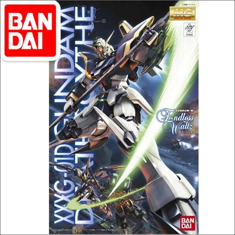 Japaness Bandai Original MG 1/100 Gundam W EW Deathscythe Unchained Mobile Suit Kids Toys