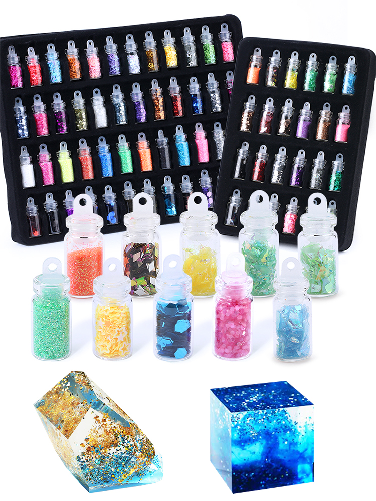 Nail-Art Stickers Glitter-Powder Beads Jewelry-Making Craft Diy Sequins Sparkling-Epoxy-Resin