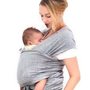 Portabebés ergonómico de 0 a 36M, portabebés con revestimiento frontal de canguro para bebé, portabebés de algodón para recién nacidos, funda para mamás de viaje Hipseat