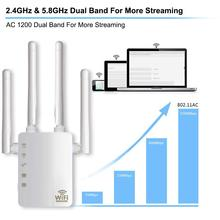 5G Dual Band Wifi Signal Amplifier Signal Booster