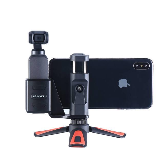 Мобильный телефон, крепежный зажим, крепление, Настольный Штатив для DJI Osmo, Карманный держатель для телефона, ручной шарнирный держатель, аксессуары для камеры