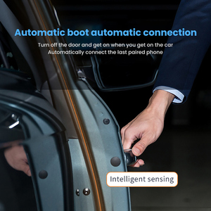 Image 4 - AOSHIKE يدوي بلوتوث عدة السيارة اللاسلكية استقبال الصوت الشمس قناع BT 4.1 الأيدي الحرة للهاتف مكالمة مكبر الصوت مشغل MP3