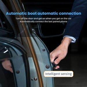 Image 4 - Aoshike kit handsfree bluetooth carro receptor de áudio sem fio viseira sun bt 4.1 mãos livres para chamada telefone speakerphone mp3 player