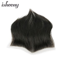15*7 100% Human Hair Piece For Men M Style Forehead Toupee Wig 4 Short Remy Hair With Lace Base Natural Hand Made