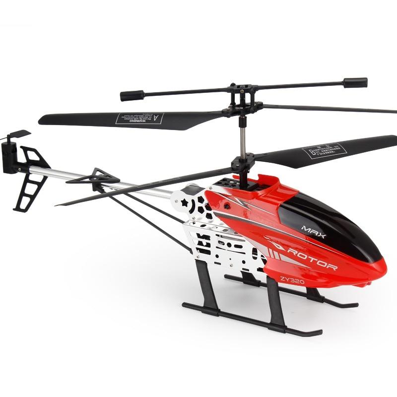 Nouveau 40cm 2.4G grande taille RC hélicoptère avec lumière LED radiocommande rc Drone hauteur fixe alliage durable ABS grands avions jouets 6