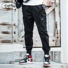 2019 spring and autumn Korean men's pants cotton t