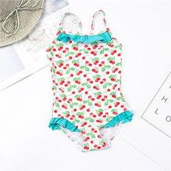 От 1 до 12 лет, детское Монокини, одежда для купания для девочек, новый брендовый летний купальник для девочек, Цельный купальник, детская пляж... 3