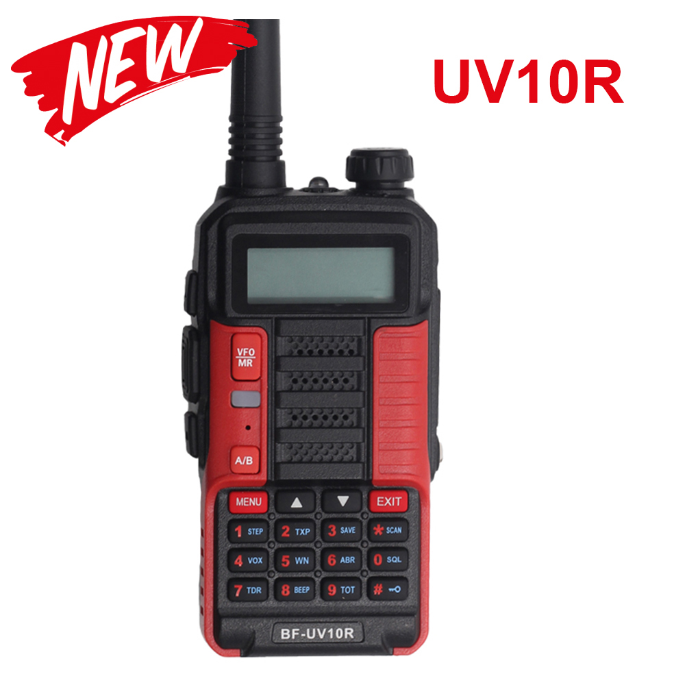 Professional Walkie Talkie Baofeng UV 10R 10km 128 Channels  VHF UHF Dual Band Two Way CB Ham Radio Baofeng UV-10R