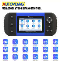 VT600 OBD2 Automotive Scanner Tool VT 600 Engine ABS SRS EPB Oil Service Reset Injector Coding OBDII Diagnostic Tool