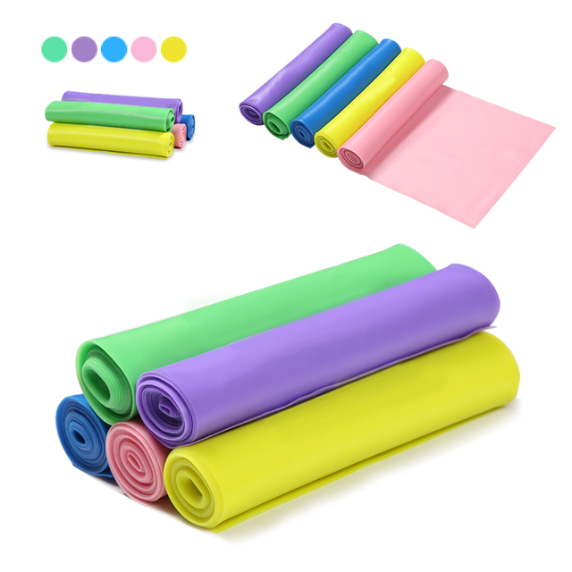 Elastic Resistance Bands Expanded Stretch Exercise Rubber Band Fitness Equipment 2