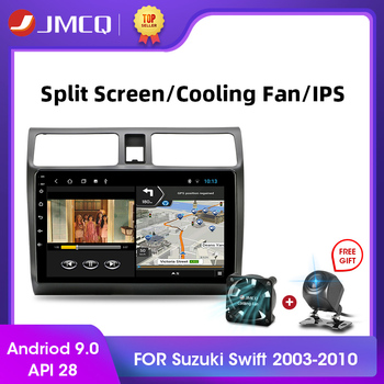 JMCQ Android 9.0 2+32G DSP Car Radio Multimidia Video Player Navigation GPS Car Stereo For Suzuki Swift 2005-2010 2din Head Unit