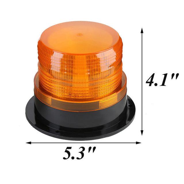 Emergency Flash Strobe Lamp Car Rotating Traffic Safety Warning Lights School Lights Led Yellow Round Ceiling Box Flash Lights 3
