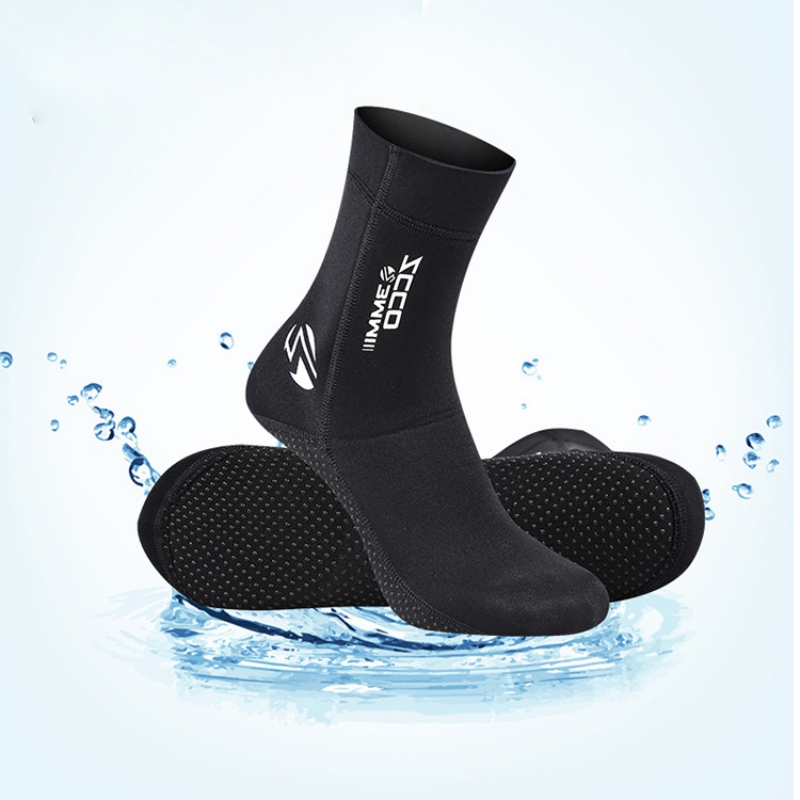 3mm Men Women Diving Socks Boots Water Shoes Non-slip Beach Boots Wetsuit Shoes Anti-scratch Snorkeling Diving Surfing Boots