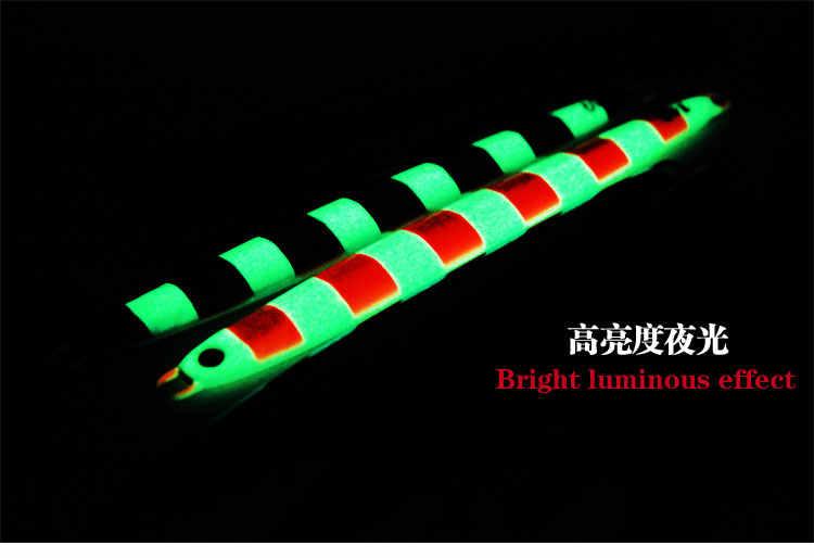 FUNADAIKO מהירות לנענע חדש עופרת לנענע מלאכותי דיג לנענע slim מתכת מפזזי פיתוי עיפרון פיתוי מהיר איטי ארוך לנענע 30g 40g 60g