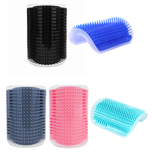 Cats Brush Comb Pet-Product Groomer Cat-Massage Tickling Corner The-Face with Rubs