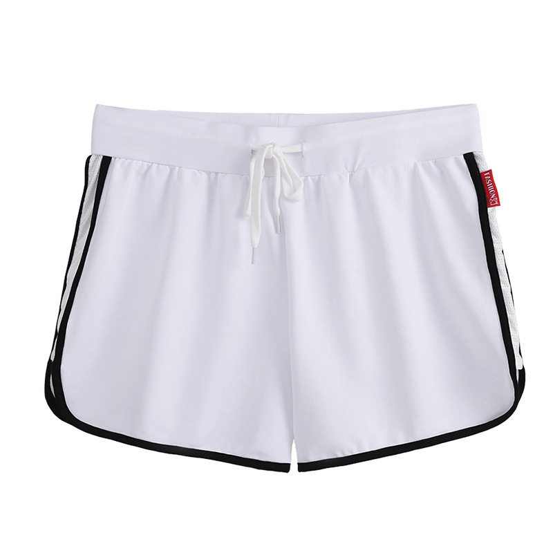 2020new Casual Loose Hot Pants In The Waist Female Three-point Shorts Wild Yoga Sports Fitness Wide-leg Pants White
