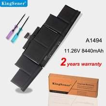 Аккумулятор kingsener 1126 в 95 Вт/ч a1494 для ноутбука apple