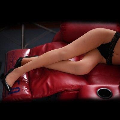 100cm amour poupée Silicone poupées de sexe réel Vaginal demi corps Sexy poupée jambes modèle Sexdoll jouets sexuels pour hommes réaliste chatte gros cul