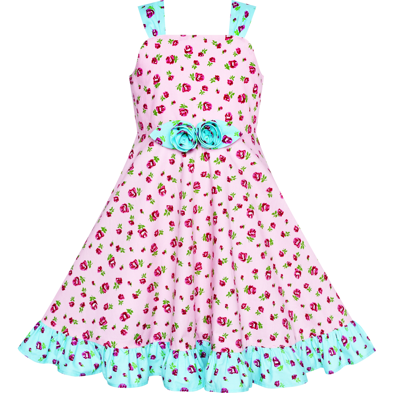 Princess Baby Kids Girl Dress Party Polka Dot Casual Dresses Summer Sundress